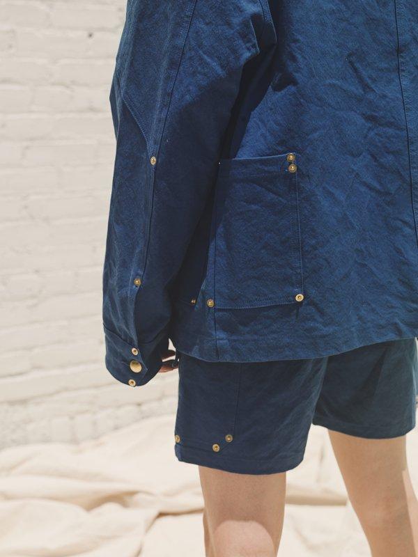 PHIPPS Ranger Cotton Workwear Short - Navy
