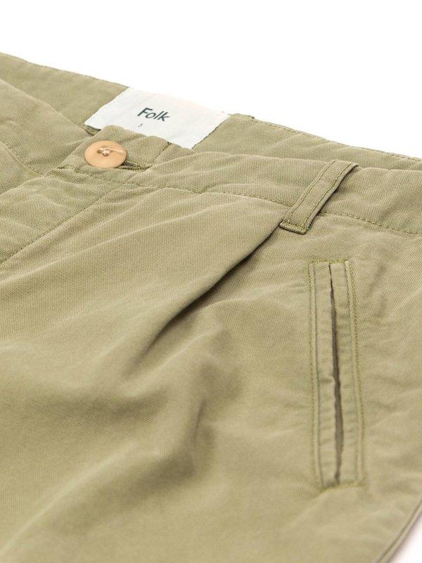 Folk Clothing Folk Assembly Trousers - Olive