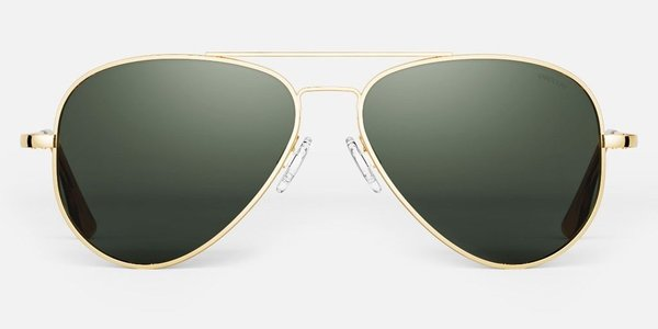 Randolph Engineering Concorde sunglasses - Gold/dark green