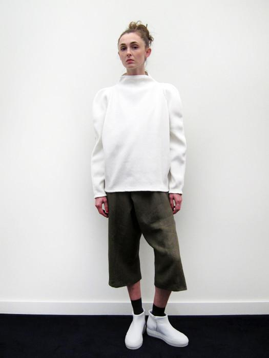 Eckhaus Latta Ribbed Big Pullover