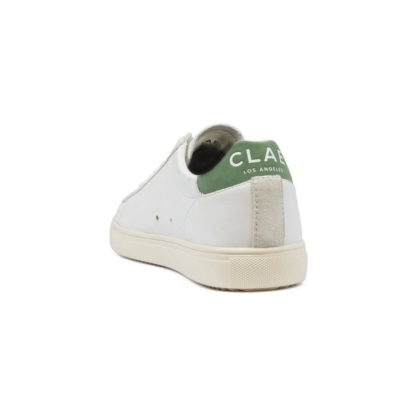 Clae Bradley Leather Sneaker - White