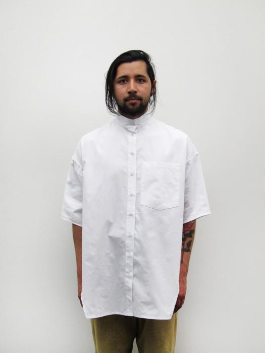 Unisex Eckhaus Latta Short Sleeve Button Down