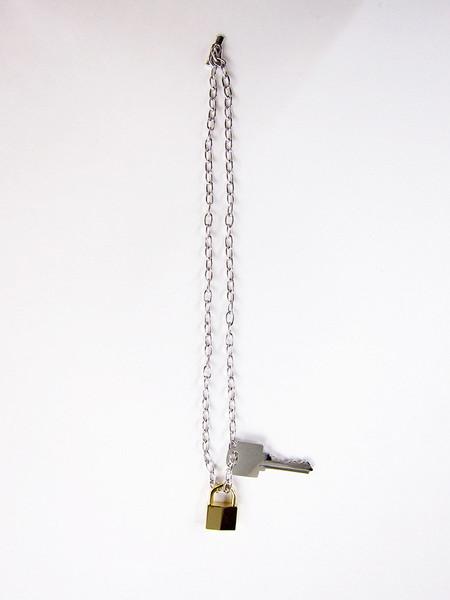 Lauren Klassen Lock and Key Necklace - Silver