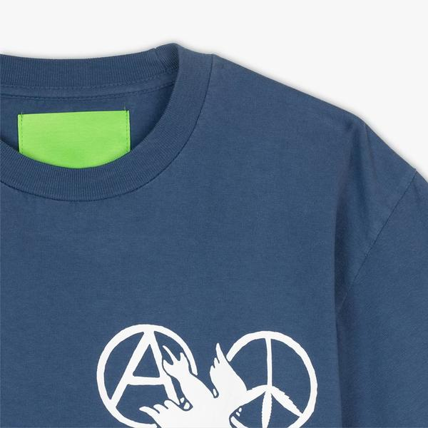 Mister Green A P E Aquarian Age Tee - Blue