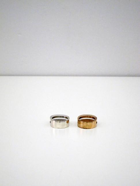 Kat Seale Split Oval Ring