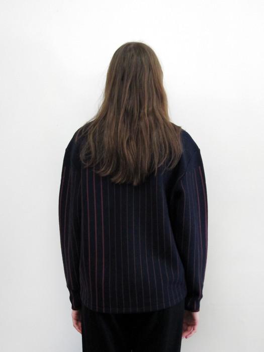 Sayaka Davis Striped Turtleneck