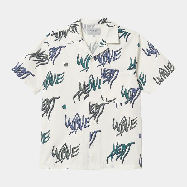 CARHARTT WIP S/S Heat Wave Shirt - Wax