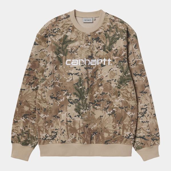 CARHARTT WIP Desert Crewneck Sweater - Camo