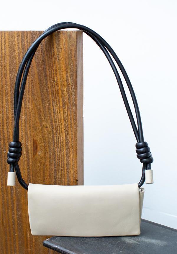 Methodology Leather Wallet Bag - Beige