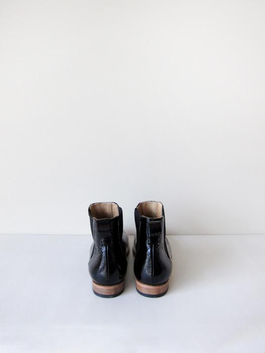 Dieppa Restrepo Troy, Black Crinkle Patent