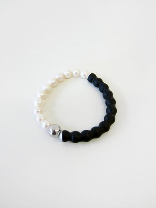 FAUX/real White Caviar Bracelet