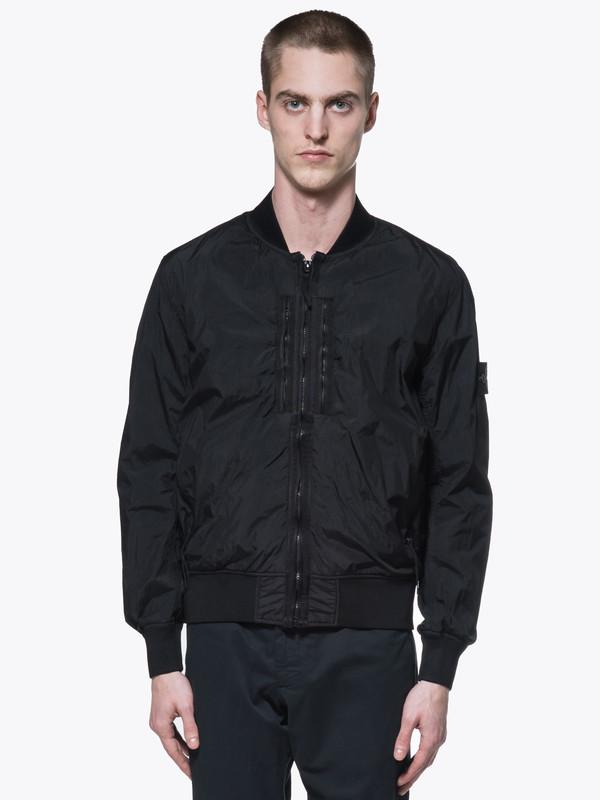 f4f566dc3 Stone Island Garment Dyed Crinkle Reps Bomber Jacket on Garmentory
