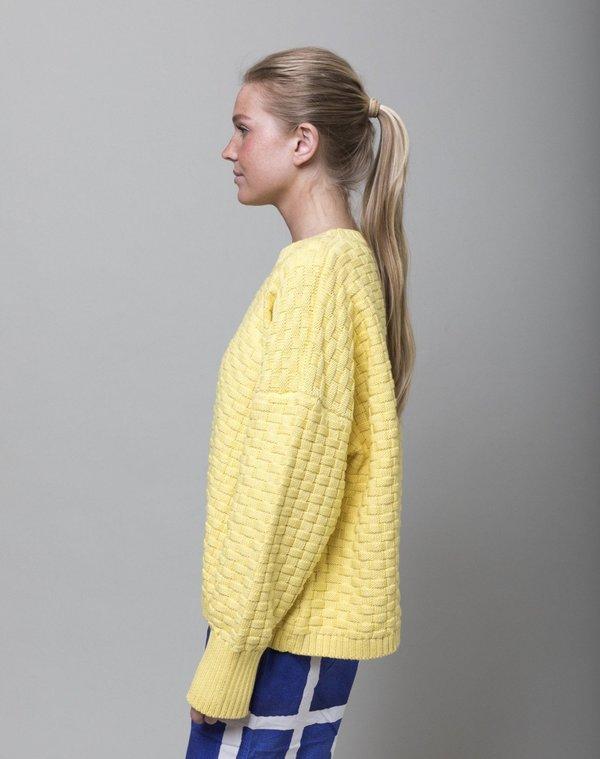 Rachel Comey Riu Pullover Sweater - Lemon