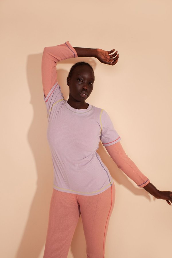 L.F.Markey Hasson T-shirt - lilac