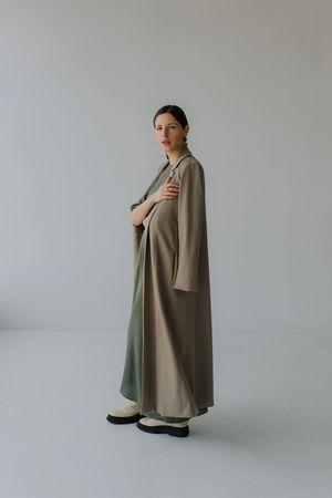 Mina Stone Coat - Cashew