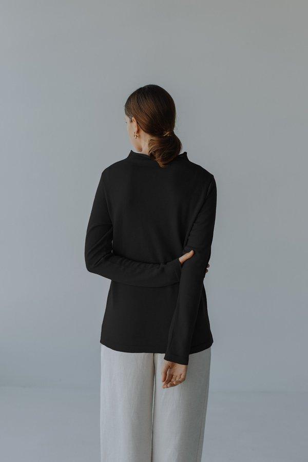 Mina Yoli Knit sweater - Black