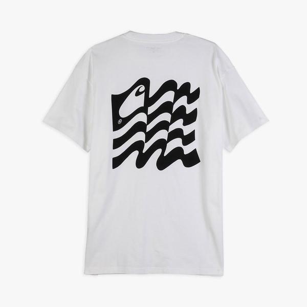 Carhartt WIP Wavy State T-shirt - White