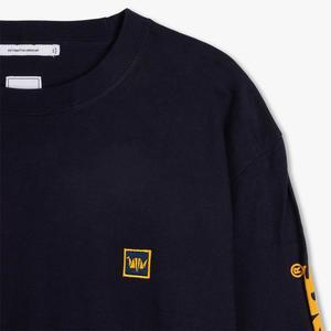Liberaiders Triangle Logo Long Sleeve T-shirt - Navy