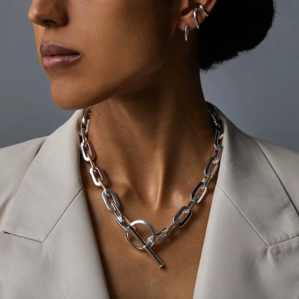 Jenny Bird Toni Chain Necklace - Silver