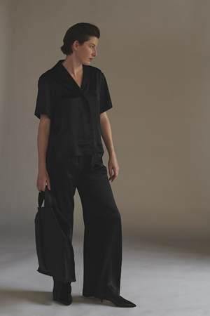 KES Relaxed Havana Linen Shirt - Light Chambray