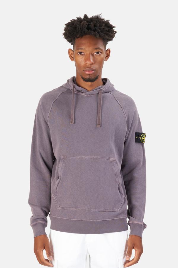 Stone Island Hoodie Sweater - Blue Grey