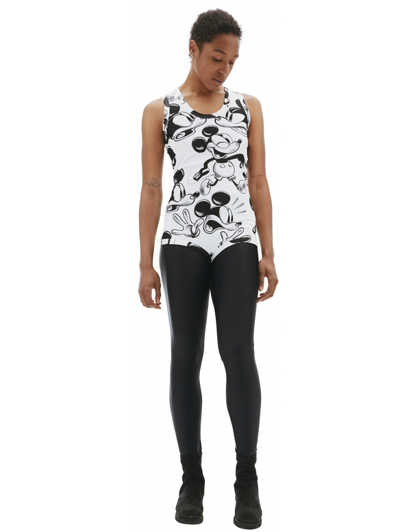 Comme des Garcons Mickey Mouse Printed Bodysuit