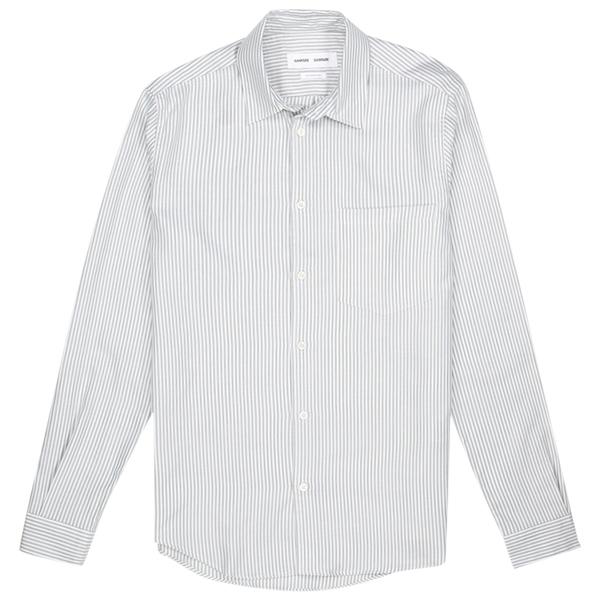 Samsoe Samsoe liam shirt - 14042 Jungle Green St.