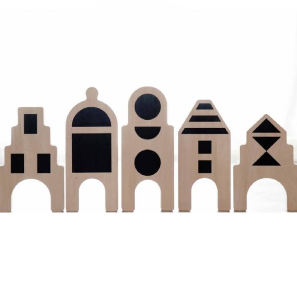 kids OOH NOO Little Village Figurine Set
