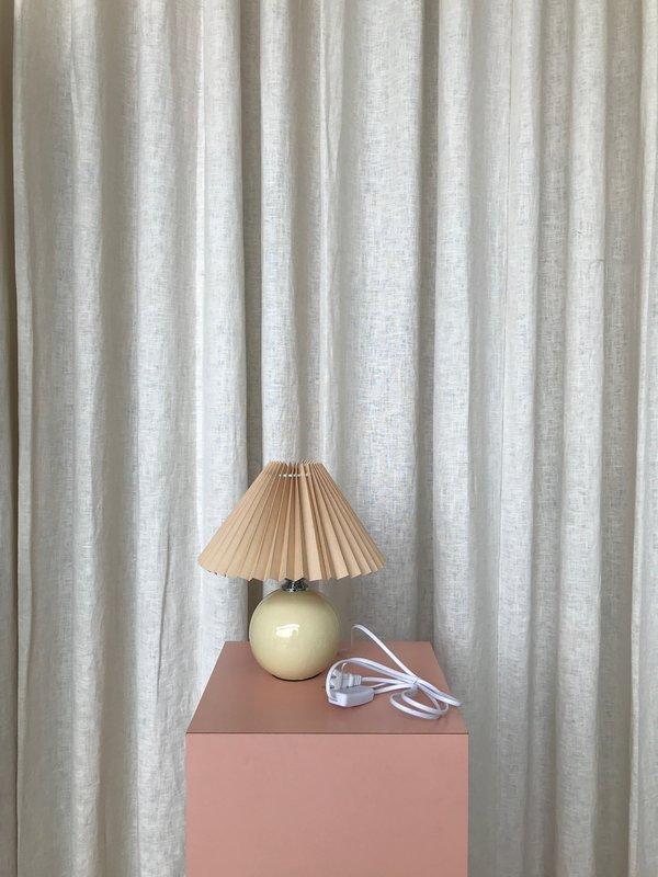 Ri-Ri-Ku FAN LAMP - TAN
