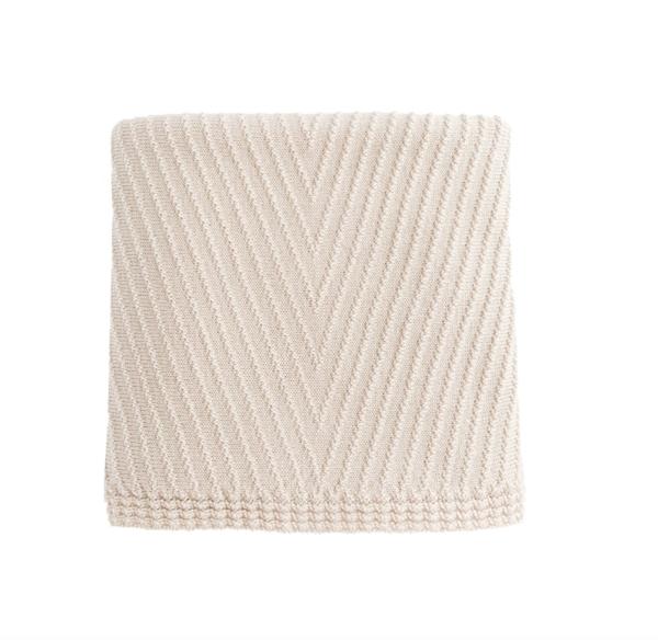 kids Hvid Akira Blanket - Off-White