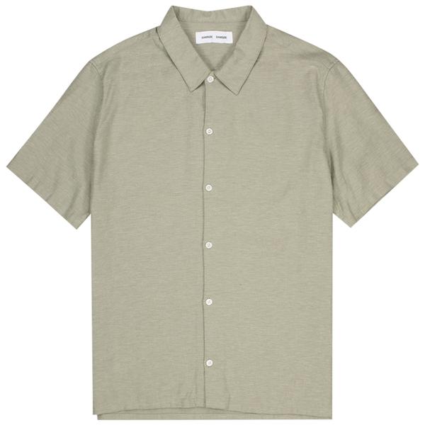 Samsoe Samsoe Avan Jx Shirt - Seagrass