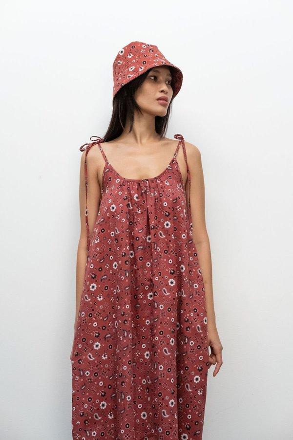 Toit Volant Boe Hat - Rust Bandana