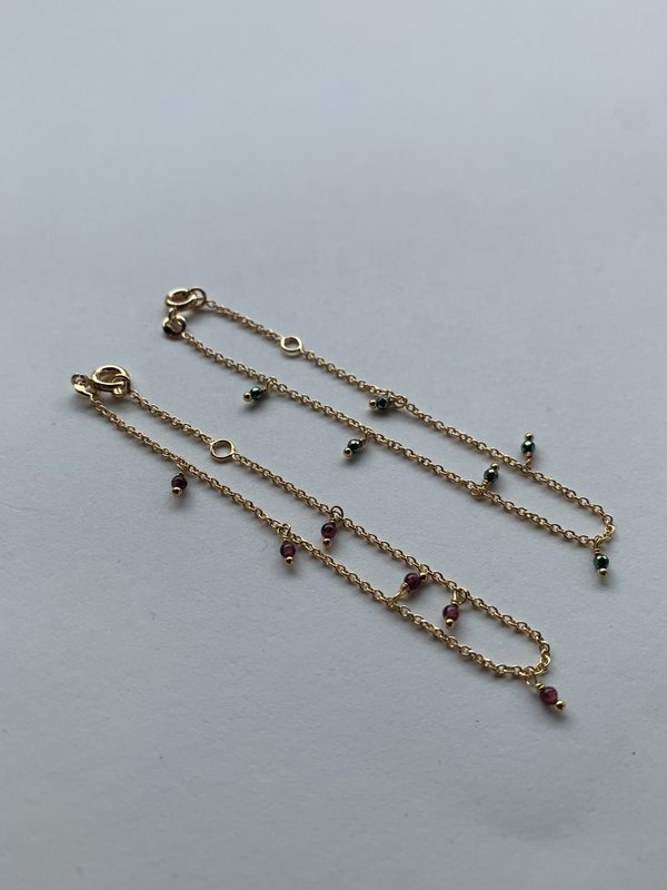 Tidy Street General Store Gold Plated Beaded Bracelet