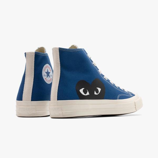 COMME des GARÇONS PLAY x Converse Chuck Taylor Hi sneakers - Blue
