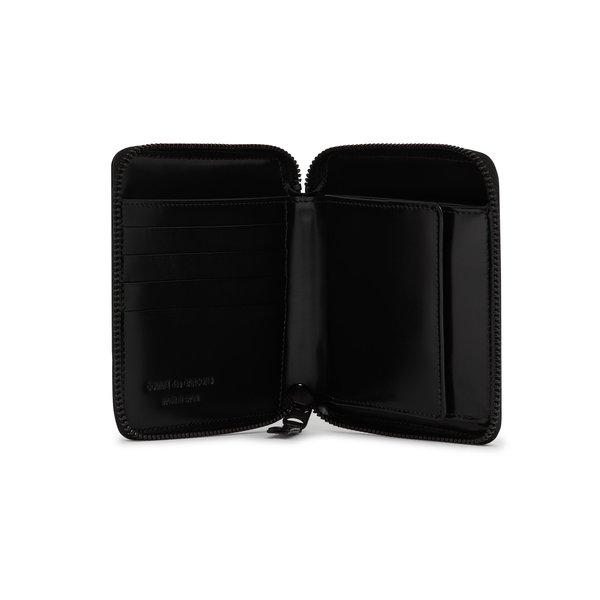 Comme Des Garçons Classic Zip Wallet - Very Black