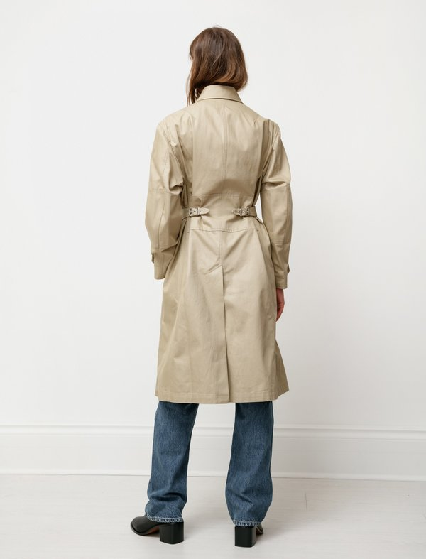 Our Legacy Engineer Work Cotton Coat - Beige