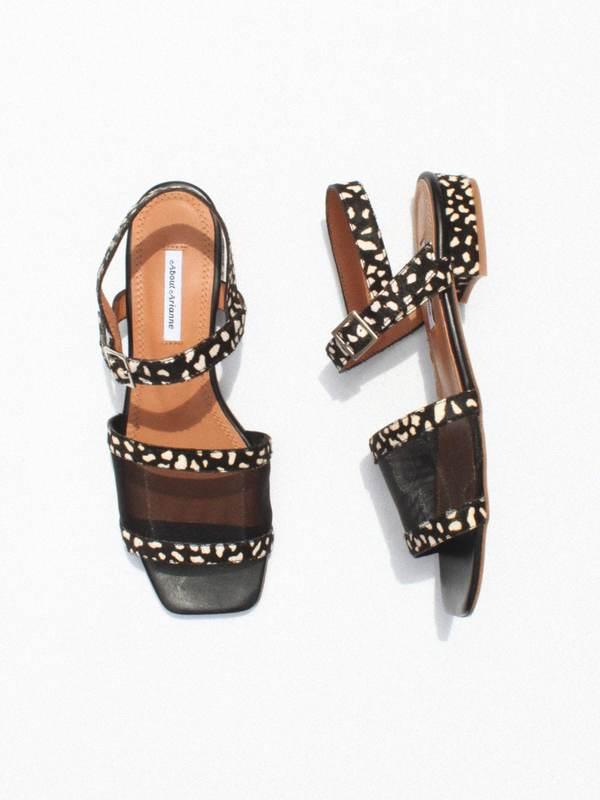 About Arianne Marini Mesh Sandals - Giraffe