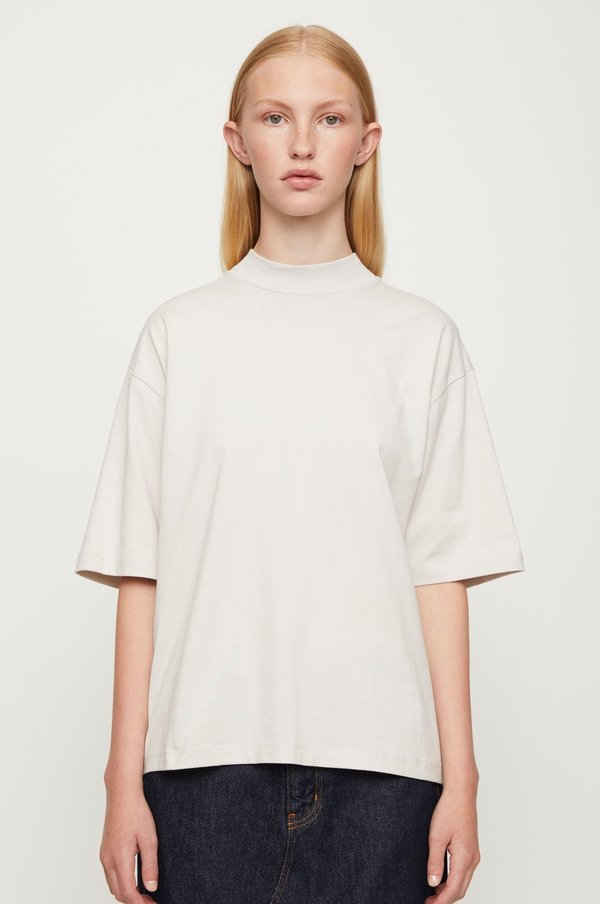 Just Female Hanoi T-shirt - Ice Grey