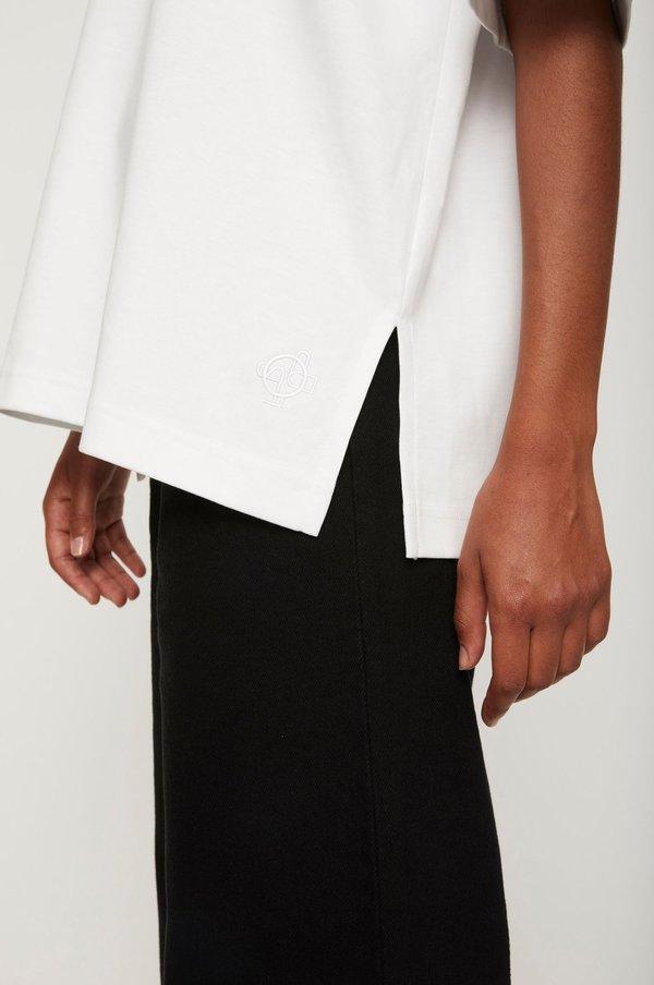 Just Female Kyoto Long T-shirt - Blanc