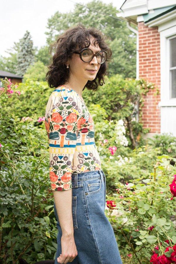 Samantha Pleet Doublet Bodysuit - Myth