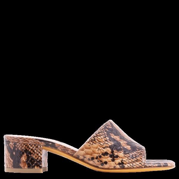 Maryam Nassir Zadeh Agatha Slide - Auburn Snake