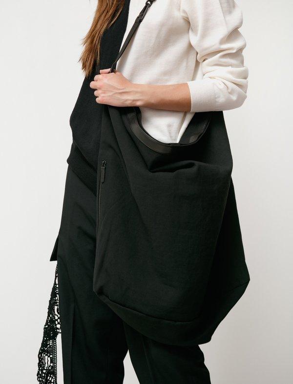 Y's by Yohji Yamamoto 2Way Shoulder Bag - Black