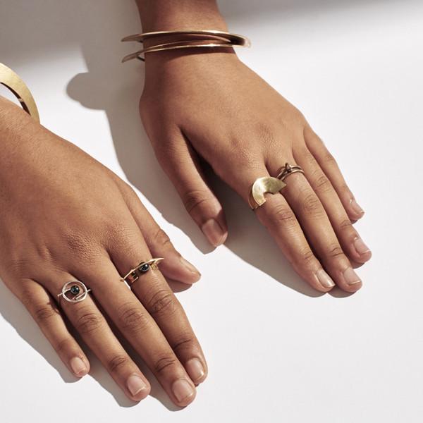 Metalepsis Projects Lygia Ring - brass