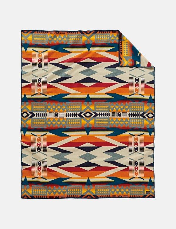 Pendleton Jacquard Blanket - Fire Legend Sunset