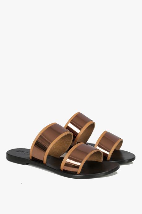 Sol Sana Evie Sandals Bronze