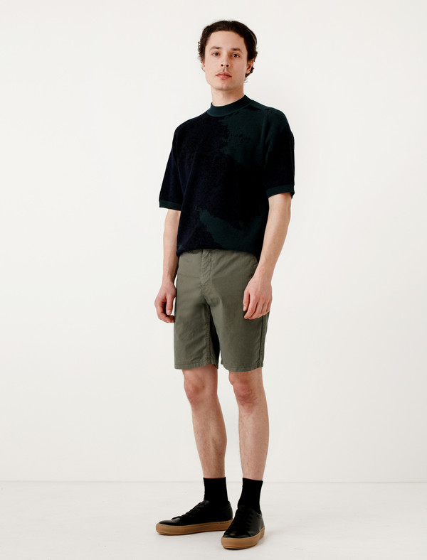 Norse Projects Aros Light Twill Shorts Dried Olive  d781ac0d2