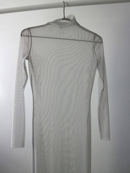 Kitty Joseph Powermesh Dress - Light Grey