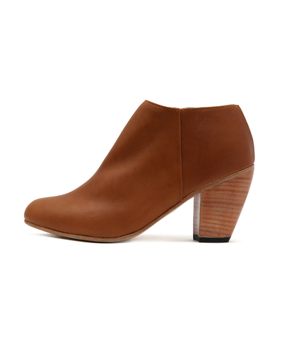 DIEPPA RESTREPO HONEY LEATHER CAMILLA BOOTIE