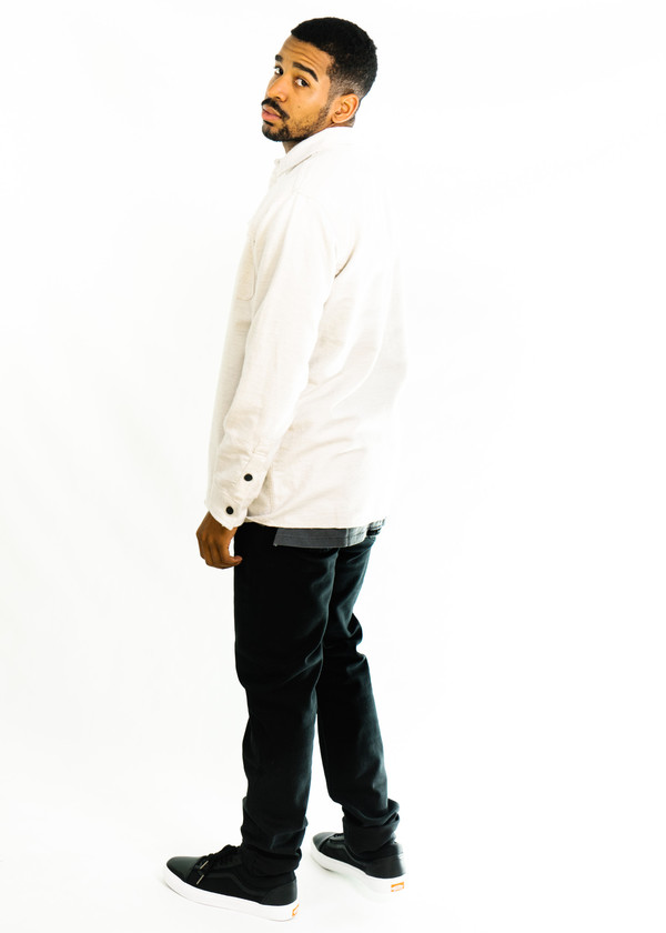 d56e52738c1 3Sixteen Hunting Shirt (Ivory Flannel)