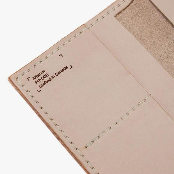 Alterior Passport Wallet / Natural